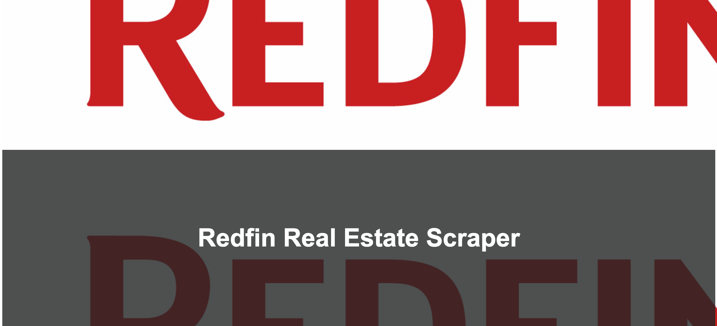 Redfin Real Estate Scraper